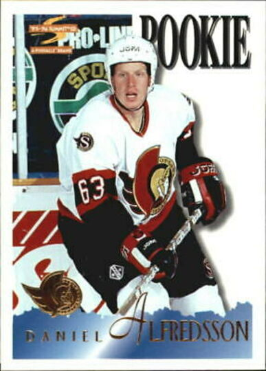 1995-96 Summit Daniel Alfredsson Rookie