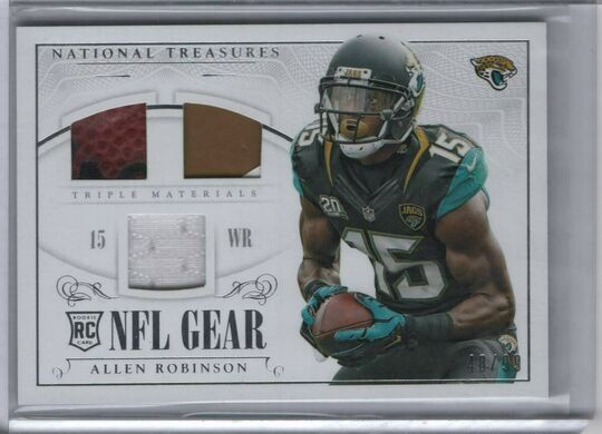 2014 panini national treasures allen robinson