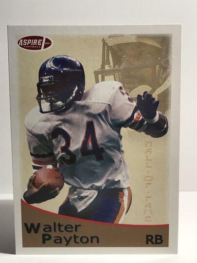 2018 Walter Payton Sage HIT Aspire #40