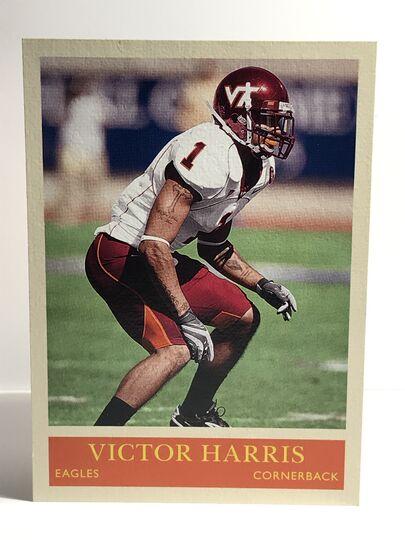 2009 Victor Harris Philadelphia #249