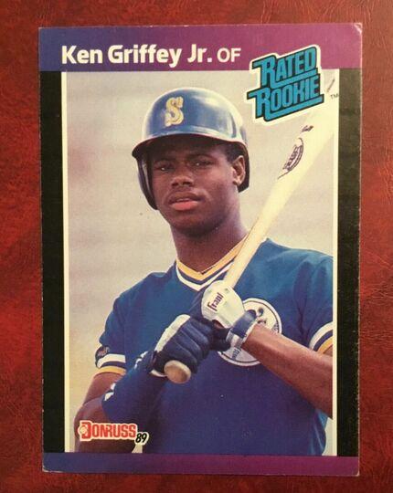 ken griffey jr 1988 donruss #33