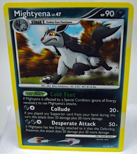Mightyena 54/127