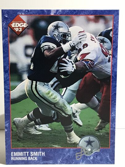 1993 Emmitt Smith Collector's Edge #48