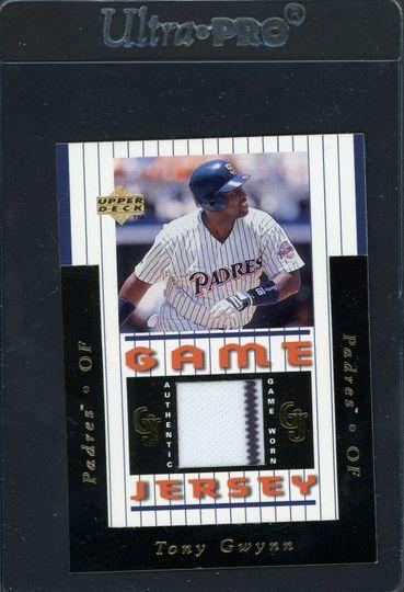 Gwynn, Tony 1997 Upper Deck Game Jersey