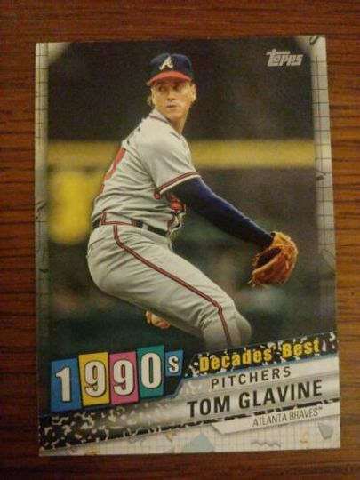 Glavine, Tom 2020 Topps Decades Best