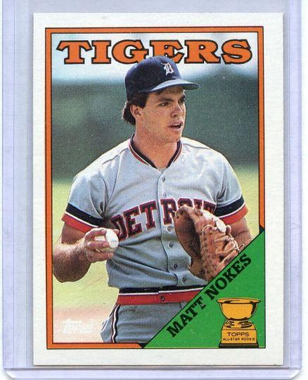 1988 Topps Matt Nokes #645
