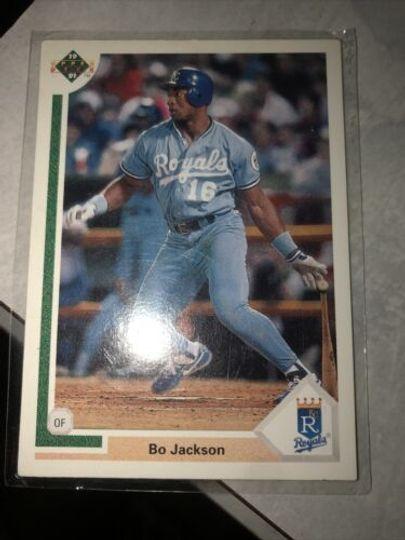1991 upper deck bo jackson 545