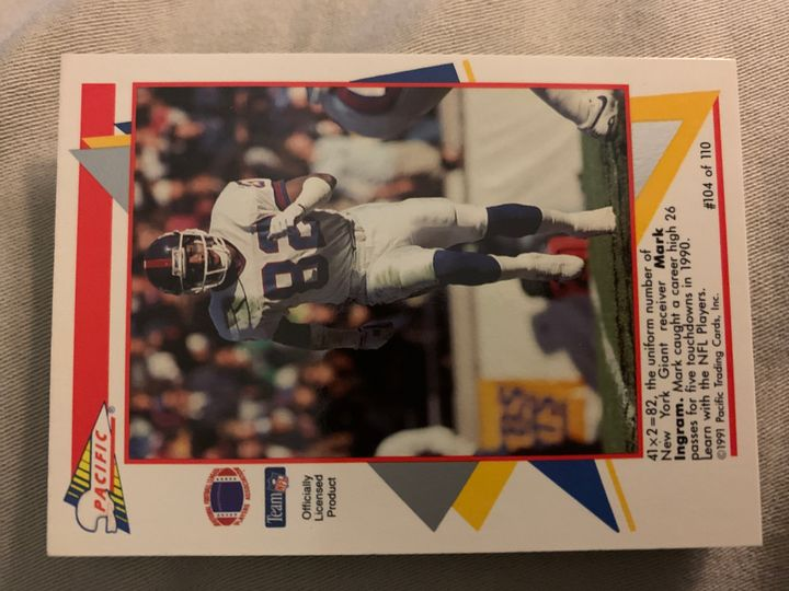 1991 Pacific Mark Ingram 104