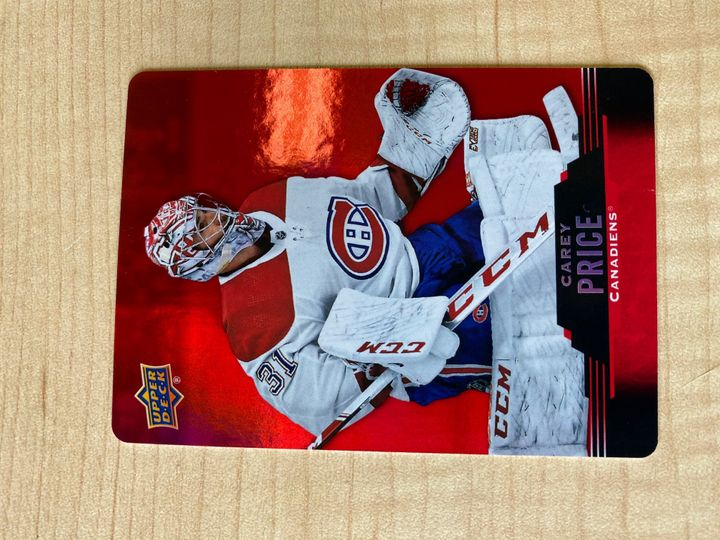 2020/21 Upper Deck Tim Hortons Collector Series Red, Carey Price, card number DC-18
