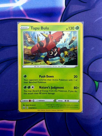 Tapu Bulu (016/163) Holo Rare