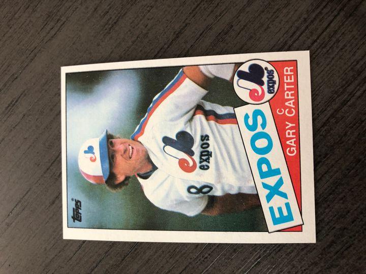 1985 TOPPS GARY CARTER 230
