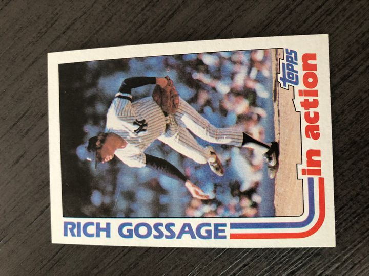 1982 TOPPS RICH GOSSAGE 771