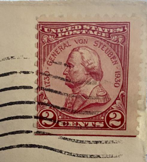 2 Cent General Von Steuben
