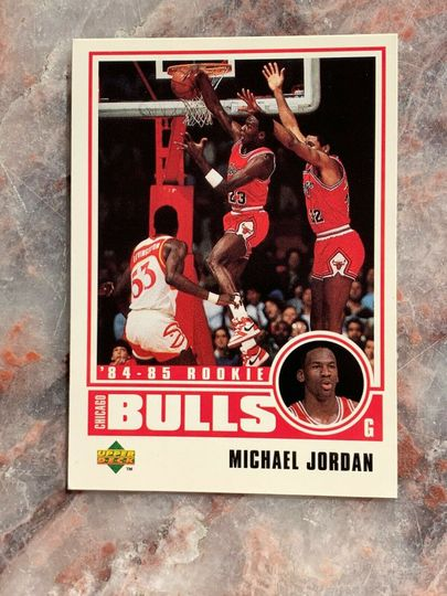 Michael Jordan Career Collection, (the early years 1984-1993)  card 1 to 60 in order then my other Jordan cards worth money. Collection Image