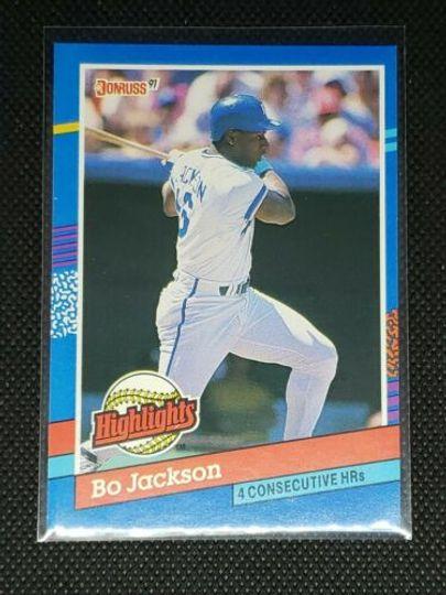 1991 donruss bo jackson #BC-10