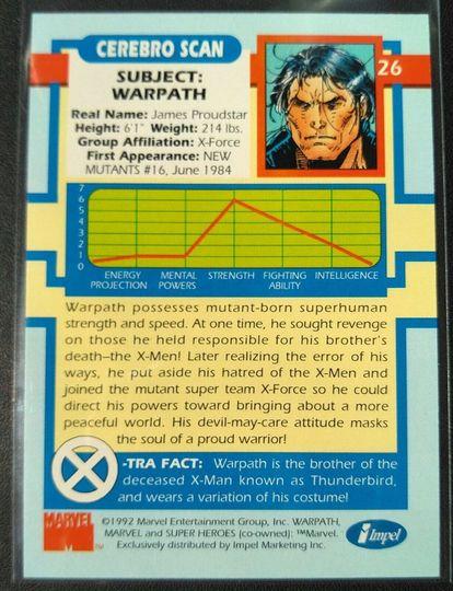 Marvel #26 Warpath