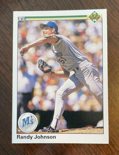 1990 upper deck randy johnson #563