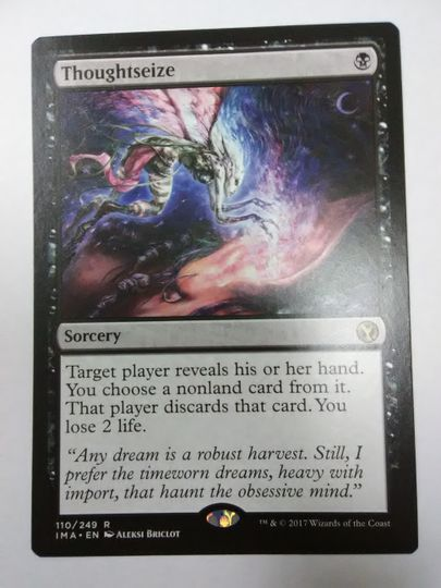 Thoughtseize Iconic Masters NM-Mint Gem?