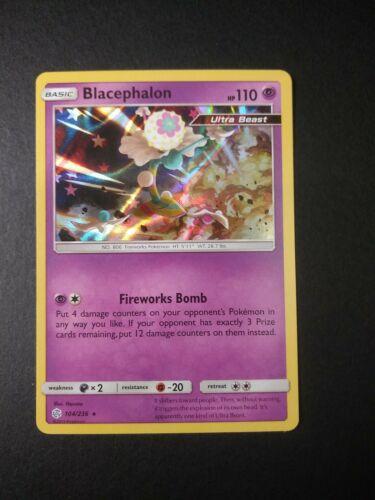1X Blacephalon 104//236 Cosmic Eclipse Pokemon Online Digital Card