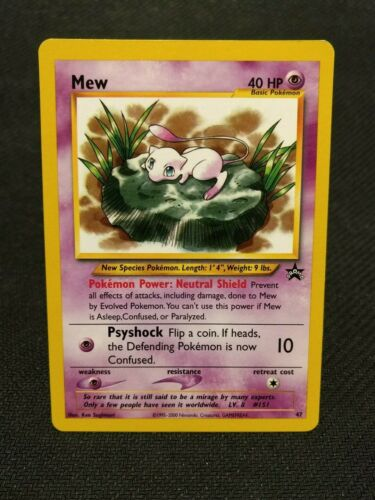 Pokemon Black Star Promo #47 Mew PSA 9 *BULK