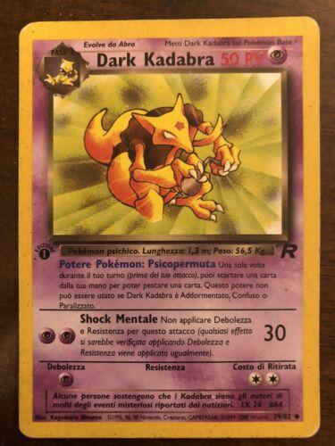Pokemon Dark Kadabra 39//82 Team Rocket NM//LP