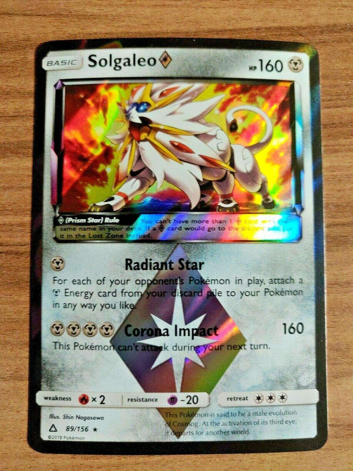 prism card pokemon french new 117//156 Draïeul holo-sl05 ultra