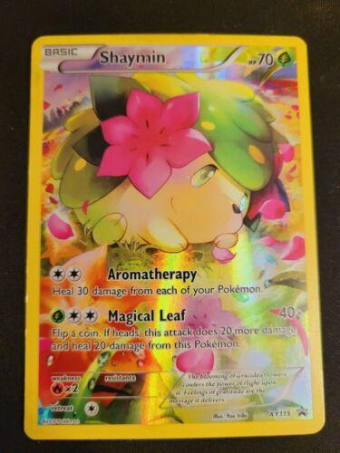 Shaymin XY115 Mythical Collection Promo Generations Pokemon Full Art Rare Holo
