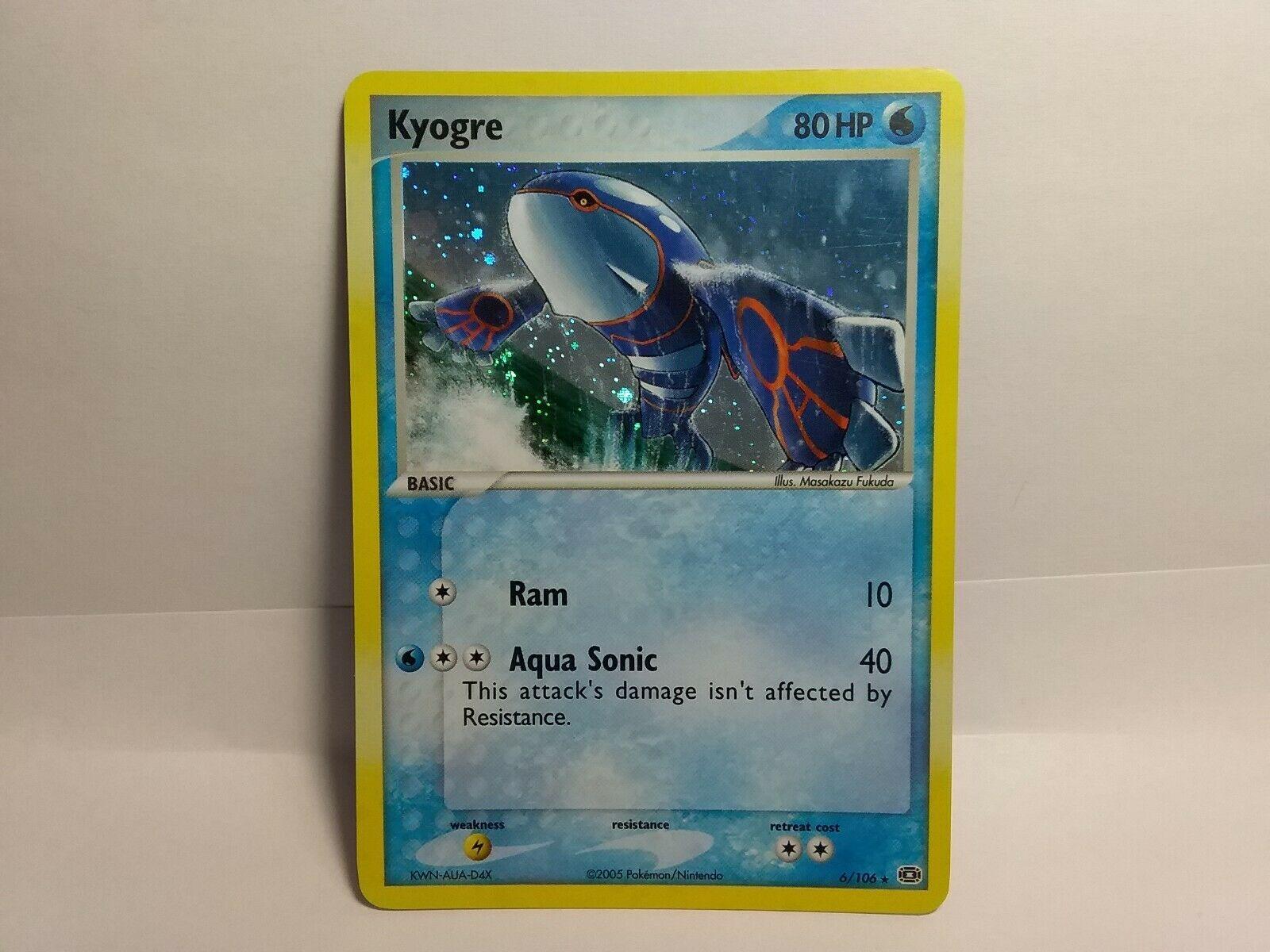 Holo Rare NM Ex Emerald Pokemon Kyogre 6//106