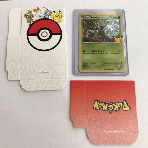 Pokemon McDonald's 25th Anniversary Treecko 3/25 HOLO & Non Holo Cards 2021