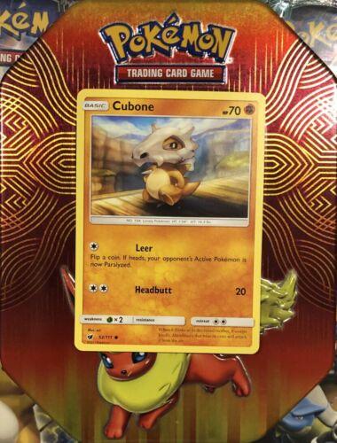 Cubone   52/111 S&M: Crimson Invasion Common Mint/NM Pokemon - Image 2
