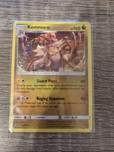 Pokémon TCG Kommo-o 54/70 Dragon Majesty Holo Rare Near Mint