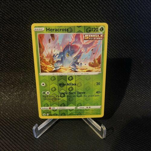 Pokemon TCG Heracross 006/198 Reverse Holo Chilling Reign