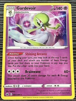 Pokemon : SWSH CHILLING REIGN GARDEVOIR 061/198 RARE HOLO