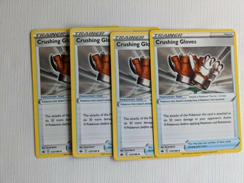 Pokemon Chilling Reign Crushing Gloves 133/198 Playset