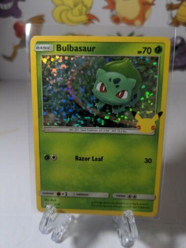 Bulbasaur 1/25 Holo McDonald's Pokemon Anniversary Promo Near Mint Pokemon TCG