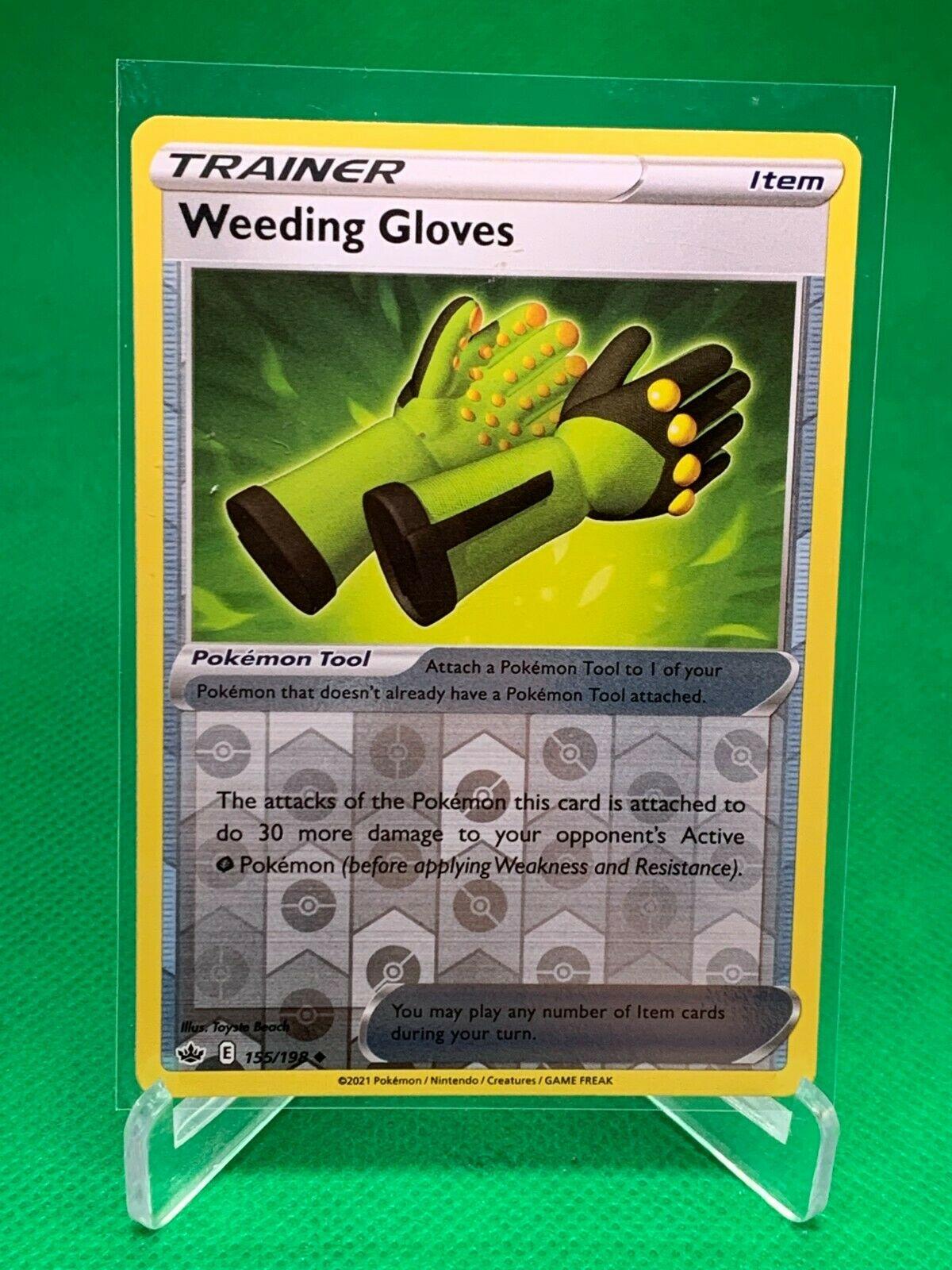 Pokemon - Weeding Gloves - Chilling Reign - 155/198 - Reverse Holo