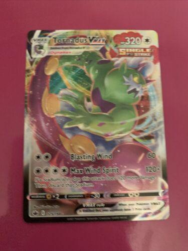 Tornadus VMAX 125/198 Full Art NM/M Chilling Reign Pokemon Card