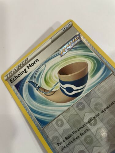 Pokemon TCG Chilling Reign 136/198 Echoing Horn Card Fresh Reverse Holo Mint - Image 2