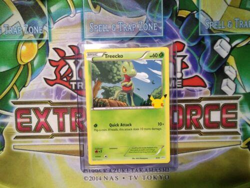 Pokemon: Treecko 3/25 - Non Holo - Mcdonald's Promo 25th Anniversary - *M-NM