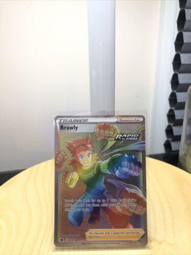 Pokémon Cards Chilling Reign Brawly Secret Rare 212/198 Mint Condition PSA!?