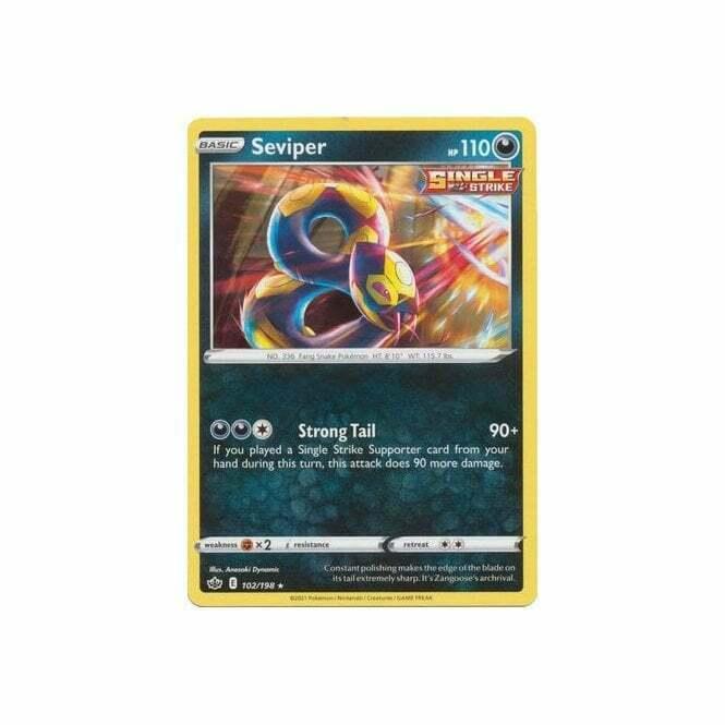 Pokemon - Chilling Reign -Seviper 102/198 (PLAYSET)