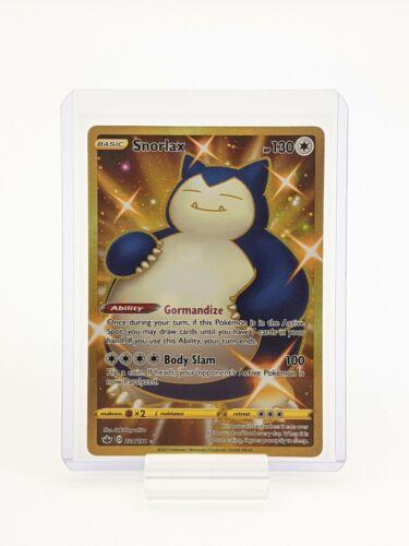 Snorlax 224/198 Chilling Reign Pokemon TCG Secret Rare NM