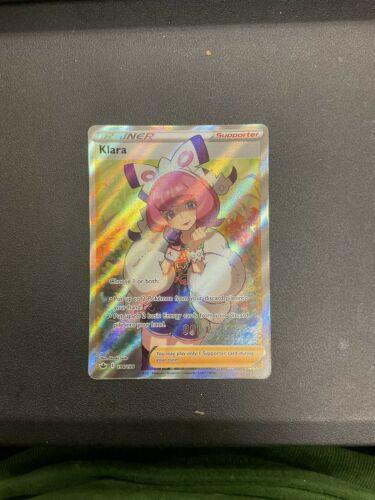 Klara 194/198 Full Art Ultra Rare Trainer Chilling Reign Pokemon TCG NM/Mint