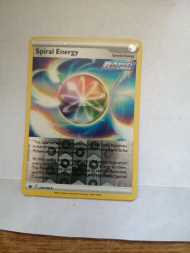 Spiral Energy 159/198 - Reverse Holo Energy Chilling Reign