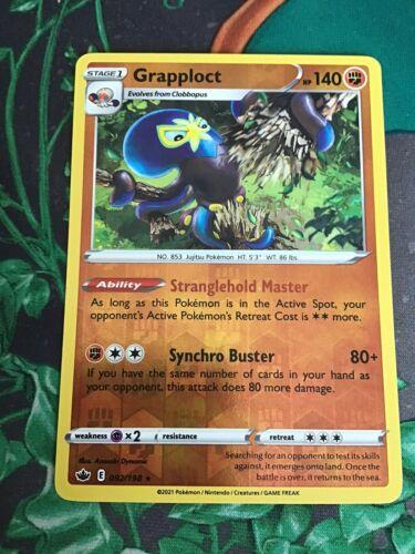 Grapploct 092/198 - Reverse Holo Rare - Chilling Reign