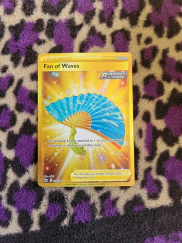 Pokemon Fan of Waves 226/198 Gold Secret Rare Chilling Reign Psa 10 Possibly