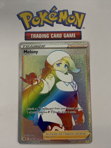 Melony Rainbow Rare 218/198 Pokemon Chilling Reign English Excellent Mint!!