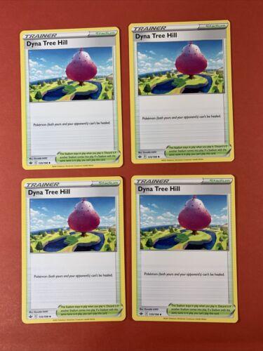 Pokémon 4X Trainer Stadium Dyna Tree Hill PLAYSET 135/198 Chilling Reign NM
