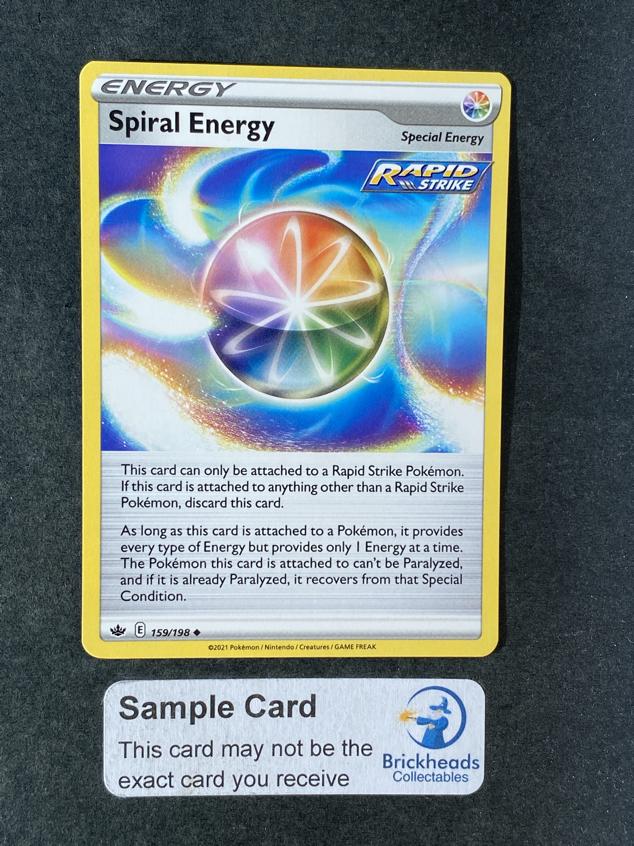 Spiral Energy 159/198 Trainer | SWSH: Chilling Reign | Pokemon Card