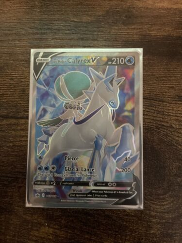 Ice Rider Calyrex V 163/198 Chilling Reign Pokemon TCG Ultra Rare NM